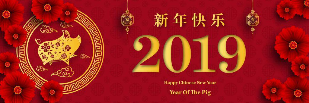 Chinese New Year 2019 - Year of the Pig