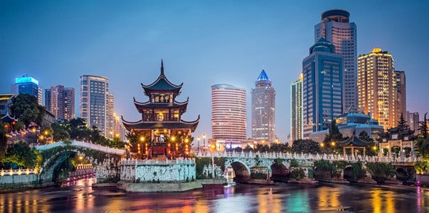 Guiyang, China, Jiaxiu Pavilion