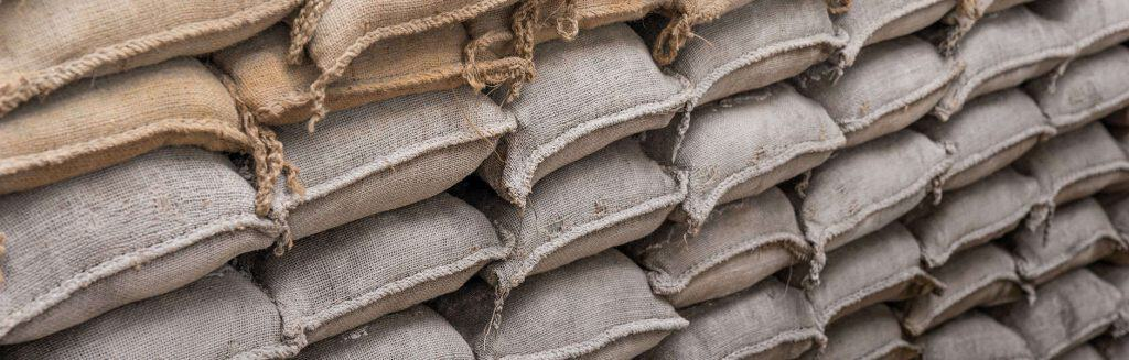 imported sandbags from China
